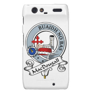 MacDougall Clan Badge Droid RAZR Covers