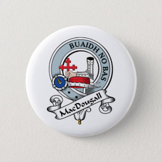 MacDougall Clan Badge Pinback Button