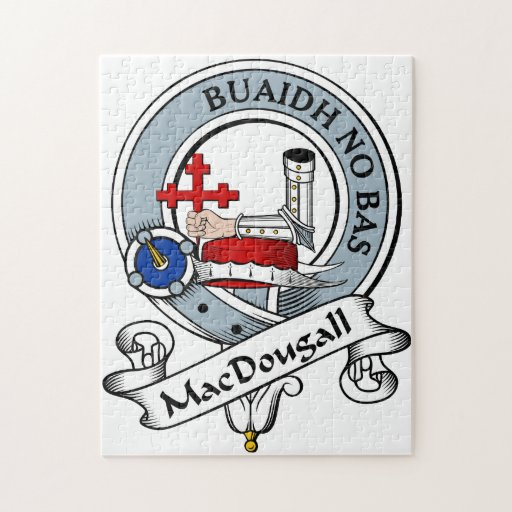MacDougall Clan Badge Puzzles