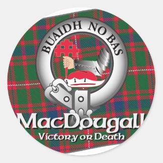 MacDougall Clan Classic Round Sticker