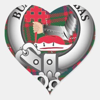 MacDougall Clan Heart Sticker