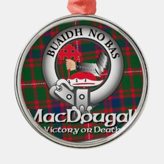 MacDougall Clan Metal Ornament