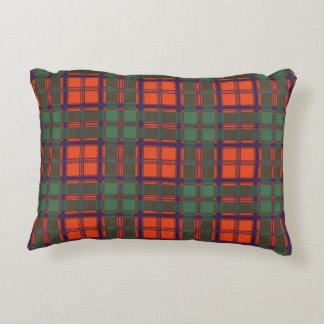 MacDougall clan Plaid Scottish kilt tartan Accent Pillow