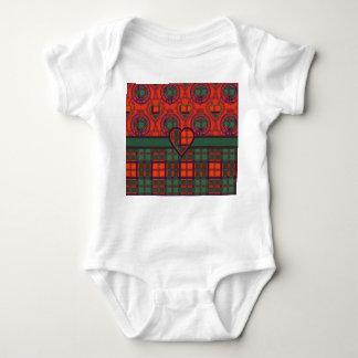 MacDougall clan Plaid Scottish kilt tartan Baby Bodysuit