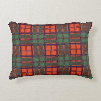MacDougall clan Plaid Scottish kilt tartan Decorative Pillow