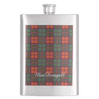 MacDougall clan Plaid Scottish kilt tartan Hip Flask