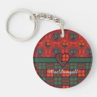 MacDougall clan Plaid Scottish kilt tartan Acrylic Keychains