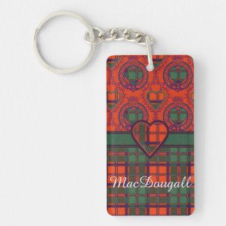 MacDougall clan Plaid Scottish kilt tartan Acrylic Key Chains