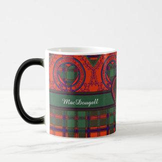 MacDougall clan Plaid Scottish kilt tartan Magic Mug