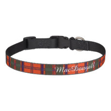 MacDougall clan Plaid Scottish kilt tartan Pet Collar