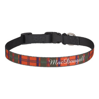 MacDougall clan Plaid Scottish kilt tartan Pet Collar