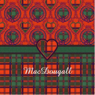 MacDougall clan Plaid Scottish kilt tartan Acrylic Cut Out