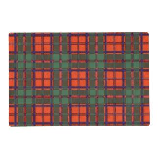 MacDougall clan Plaid Scottish kilt tartan Placemat