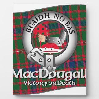 MacDougall Clan Plaque