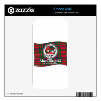 MacDougall Clan Skin For The iPhone 4