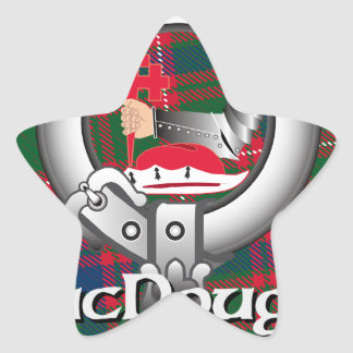 MacDougall Clan Star Sticker