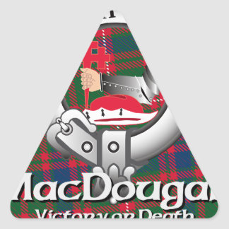 MacDougall Clan Triangle Sticker