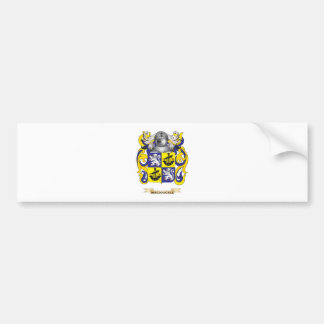 MacDougall Coat of Arms (Family Crest) Car Bumper Sticker