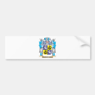 Macdougall Coat of Arms - Family Crest Car Bumper Sticker