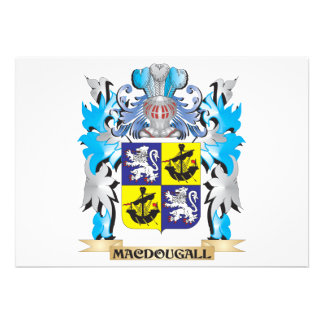 Macdougall Coat of Arms - Family Crest Invite