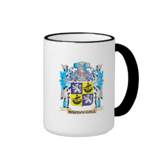 Macdougall Coat of Arms - Family Crest Ringer Coffee Mug