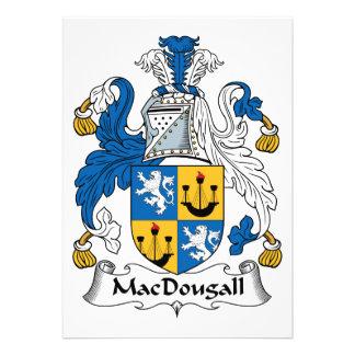 MacDougall Family Crest Invite