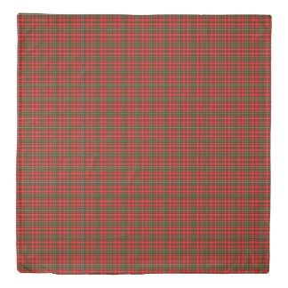 MacDougall Scottish Plaid Printed Tartan Duvet Cover