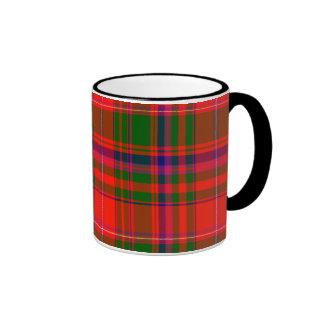 Macdougall Scottish Tartan Ringer Mug