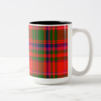 Macdougall Scottish Tartan Two-Tone Coffee Mug