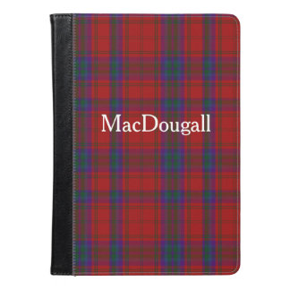 MacDougall Tartan Plaid iPad Air Folio iPad Air Case