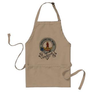 MacDowall Clan Badge Aprons
