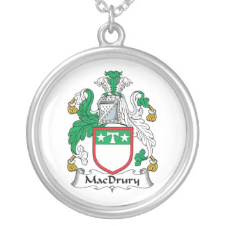 MacDrury Family Crest Necklace