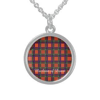 Macduff clan Plaid Scottish tartan Sterling Silver Necklaces