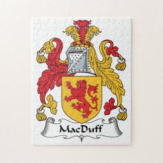 MacDuff Family Crest Jigsaw Puzzle