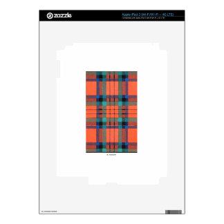 MACDUFF FAMILY TARTAN SKINS FOR iPad 3