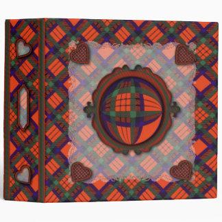 Macduff Scottish clan tartan - Plaid 3 Ring Binder