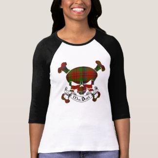 MacDuff Tartan Skull T Shirts