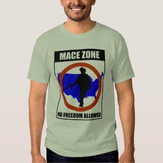 Mace Cop - Mace Zone - No Freedom Allowed Shirt