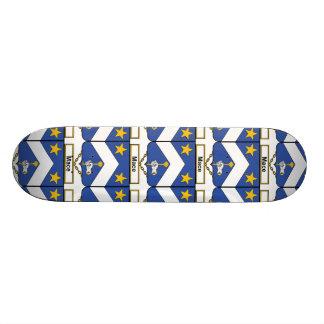 Mace Family Crest Skate Board Deck