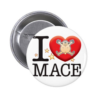 Mace Love Man Button