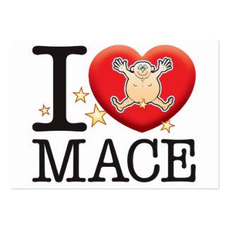 Mace Love Man Large Business Card