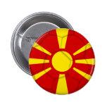 Macedonia Anstecknadelbutton