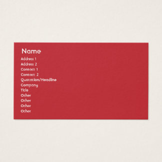 Macedonia - Business Business Card