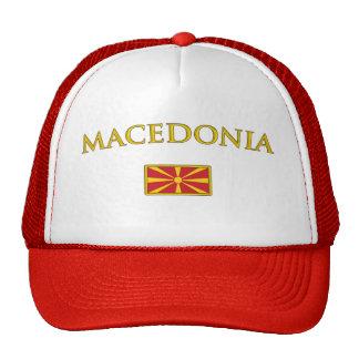 Macedonia de oro gorros
