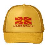 Macedonia Flag 1 Hat