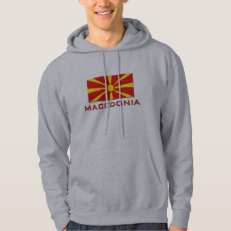Macedonia Flag 1 Pullover