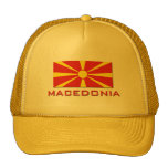 Macedonia Flag 1 Trucker Hat