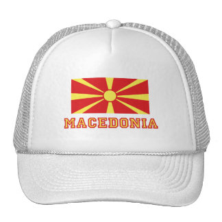 Macedonia Flag 2 Trucker Hat