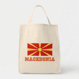 Macedonia Flag 2 Tote Bag