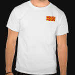 Macedonia Flag Map Basic T-Shirt